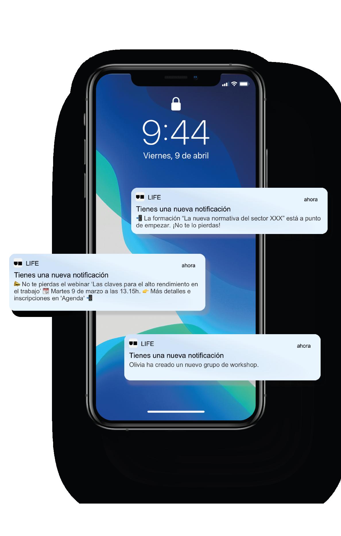 Aplicación smartphone Unifit Asociaciones. Una app para mejorar la comunicación interna en las asociaciones